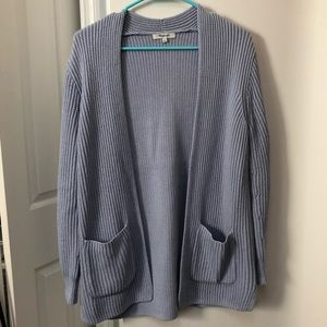 Madewell ribbed cardigan sweater